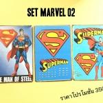 SET Marvel 02 จำนวน 3 เเผ่น ขนาดรวม 60x30 cm