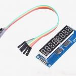 ตัวเลขแสดงผล 8 หลัก Digital Control Module 595 Drivers Microcontrol Data Display Module