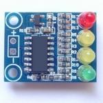 โมดูลวัดแบตเตอรรี่ 12V 4 ระดับ battery 4 level power indicator module