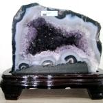 ▽โพรงอเมทิสต์ ( Amethyst Geode) ตั้งโต๊ะ (9.1KG)