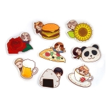 Hetalia The World Twinkle - Trading Acrylic Magnet Hyokkori Motif ver. 8Pack BOX(Pre-order)