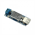 DC-DC XL4015 Step down module voltmeter + 5 V USB charger power supply input 4.5v-40v output 5V/2A