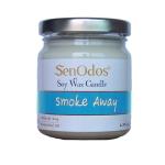 SenOdos เทียนหอม อโรม่า Smoke Away Scented Soy Candle Aroma 190 g - กลิ่นเลิกบุหรี่ ลดบุหรี่