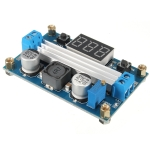 LTC1871 Step up (Boost) with Digital voltmeter 3.5-35Vdc 100W