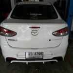 Mazda2 ท่อJs fx pro