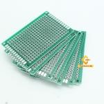 แผ่นปริ๊นอเนกประสงค์ ไข่ปลา สีเขียว คุณภาพดี Prototype PCB Board 4x6 cm