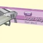 โคมพาดขอบตู้ T5x2 Aqua Zonic Super Bright