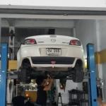 Mazda Rx8 เติมหม้อพักกลาง เพิ่มกำลังอัด