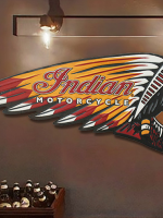 Indian ยัก 61 x 23.3 cm **B26**