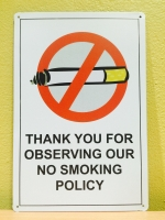 NO SMOKING**O14**
