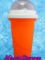แก้วทำสเลอปี้ สีส้ม