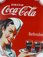 ฝาเหล็กยัก Cocr Cola 2 เเดง ขนาด 40 cm