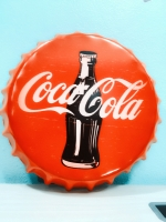 ฝาเหล็กยัก Cocr Cola เเดง ขนาด 35 cm