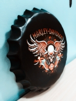 ฝาเหล็กยัก Harley-Davidson ขนาด 40 cm