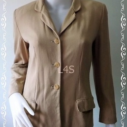 BN4174 --เสื้อสูท สีกากี LIZ CLAIBORNE อก 36 นิ้ว