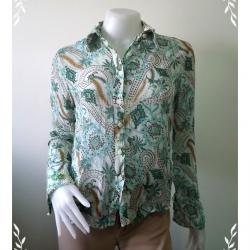 jp2220-เสื้อแฟชั่น ชีฟอง สวยๆ KMOW BEANS อก 34 นิ้ว