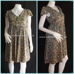 "Dress0172--เดรสแฟชั่น นำเข้าญี่ปุ่น preview ""อก 32 -33 นิ้ว"""