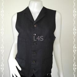 BN4011--เสื้อกั๊ก สีดำ เสื้อกั๊ก cambridge university polo club อก 36 นิ้ว