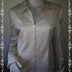 BNjean0051-- เสื้อคลุม แจ็กเกต สีครีม CASUAL CORNER อก 36 นิ้ว