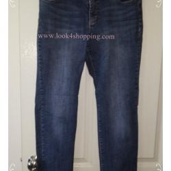 BNB0943--กางเกงยีนส์ แบรดน์เนม มือสอง CHICO S เอว 32 นิ้ว