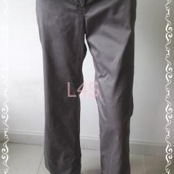 กางเกงผ้า สีเทาน้ำตาล MNG BASICS เอว 32 นิ้ว