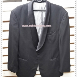0018--เสื้อสูทชาย สีดำ BRADYS อก 40 นิ้ว