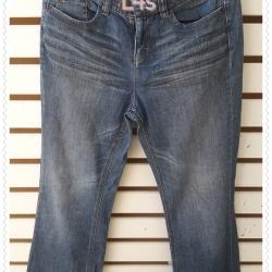 BNB1594 --กางเกงยีนส์ มือสอง แบรนด์เนม DKNY JEANS เอว 28 นิ้ว