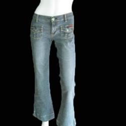 "BNB0784-กางเกงยีนส์ นำเข้า แบรนด์เนม ROXY JEAN ""เอว 28-29 นิ้ว"""