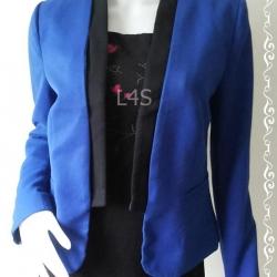 BNjean0019--เสื้อคลุมทรงสูทแฟชั่น แบรนด์เนม Forever21 อก free--36 นิ้ว