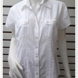 jp4860---เสื้อแฟชั่น นำเข้า สีขาว Style&co. อก 42 นิ้ว