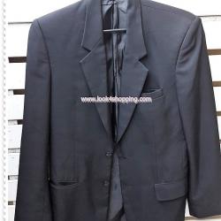 SUITMAN0054 --เสื้อสูทชาย มือสอง สีดำ อก 36 นิ้ว