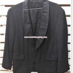 0055 -เสื้อสูทชาย มือสอง สีดำ งานนำเข้า อก 42 นิ้ว