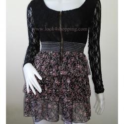 """Dress0555--เดรสแฟชั่น สวยๆ """"อก 30 - 33 นิ้ว"""""""
