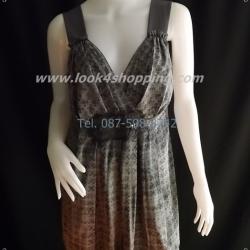 BN2056--เสื้อแฟชั่น นำเข้า สีเทาเข้ม Simply Vera vera wang อก 38-40 นิ้ว