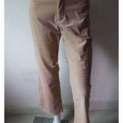 BNB1394-กางเกงลูกฟูก สีกากี มือสอง แบรนด์เนม ESPRIT เอว 26 นิ้ว