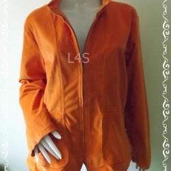BNjean0039--/เสื้อคลุม ลุกฟูก สีส้ม แบรนด์เนม Cj.Banks by christopher & Banks อก 48-50 นิ้ว