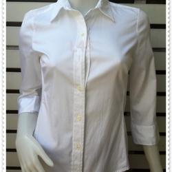เสื้อเชิ้ต สีขาว BANANA REPUBLIC อก 32 นิ้ว
