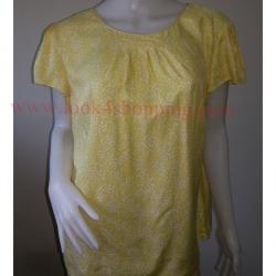 """jp3372-เสื้อแฟชั่น สีเหลือง Boden""""อก free-44 นิ้ว"""""""