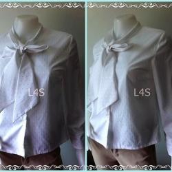jp4262-เสื้อแฟชั่น นำเข้า สีขาว อก 36 นิ้ว