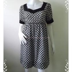 Dress0577--เดรสแฟชั่น ชีฟอง สวยๆ PERISSOIRE อก 36-38 นิ้ว