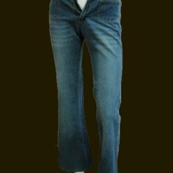 BNB0490-กางเกงยีนส์ แบรนด์เนม ของใหม่ตัดป้าย ROCK EXPRESS เอว 26 นิ้ว