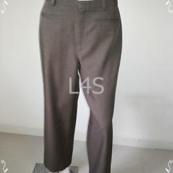 "TR0001-กางเกงผ้ามิอสอง สีน่้ำตาล ""เอว 30 นิ้ว"""