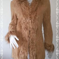 BNjean0028-- เสื้อโค๊ท สีน้ำตาล นำเข้า แบรนด์เนม giacca