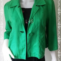 BNjean0021--เสื้อคลุม แบรนด์เนม สีเขียว Style & Co. อก 35 นิ้ว
