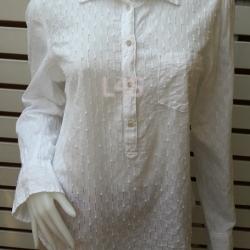 เสื้อแฟชั่น แบรนด์เนม สีขาว MERONA อก 38 นิ้ว