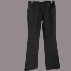 "BNB0728-กางเกง แบรนด์เนม สีดำ ESPADA ""เอว 25 นิ้ว"""