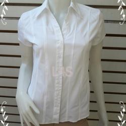 เสื้อเชิ้ต มือสอง สีขาว Style&co อก 34-35 นิ้ว