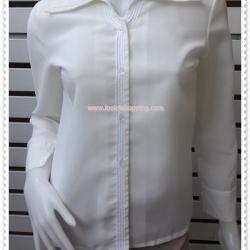 jp5002---เสื้อแฟชั่น นำเข้า สีขาวครีม อก 34 นิ้ว