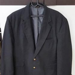 0024--เสื้อสูทชาย สีดำ EDWARDS อก 44 นิ้ว