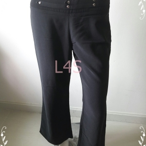TR0065-กางเกงผ้า สีดำ เอว 30 นิ้ว